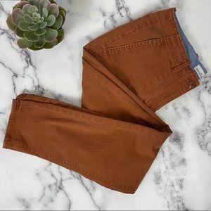 L.L. Bean Signature Orange Pants Size 10